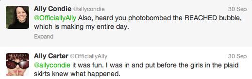 Ally tweets