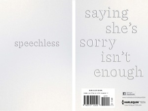 Content Advisory and Review for Speechless by Hannah Harrington