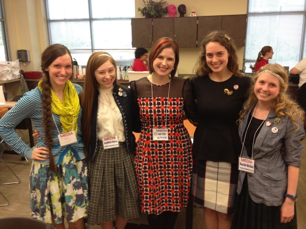 Plaid Girls and Marissa Meyer