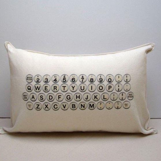 typwrite pillow