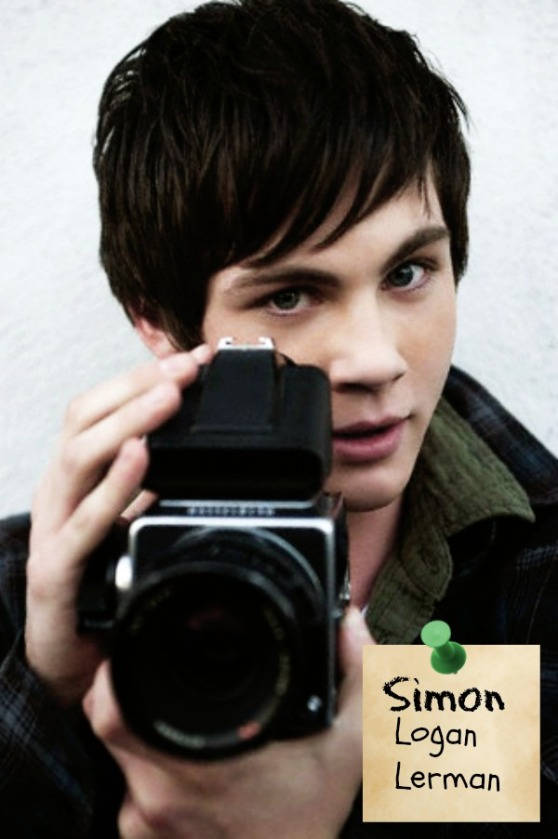 Heist Society (by Ally Carter) Movie Dream Cast: Logan Lerman as Simon