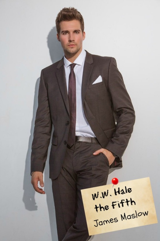 Heist Society (by Ally Carter) Movie Dream Cast: James Maslow as W.W. Hale the Fifth