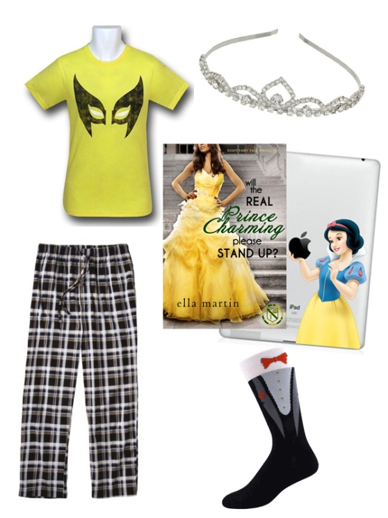 Pajamas inspired by Will The Real Prince Charming Please Stand Up? by Ella Martin