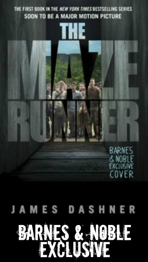 The Maze Runner Barns & Noble exclusive cover