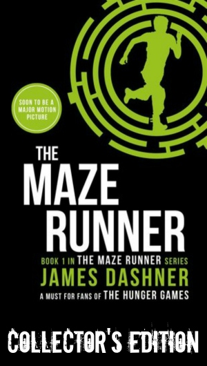 The Maze Runner collector's edition cover themazerunnerbooks.com