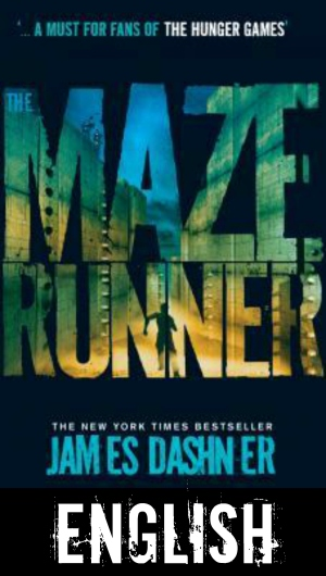 The Maze Runner English cover