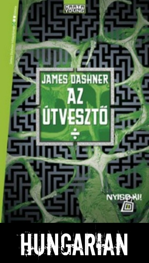 The Maze Runner Hungarian cover