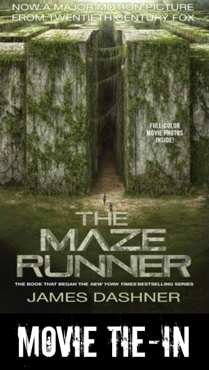 The Maze Runner movie tie-in cover