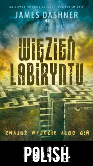 The Maze Runner Polish cover
