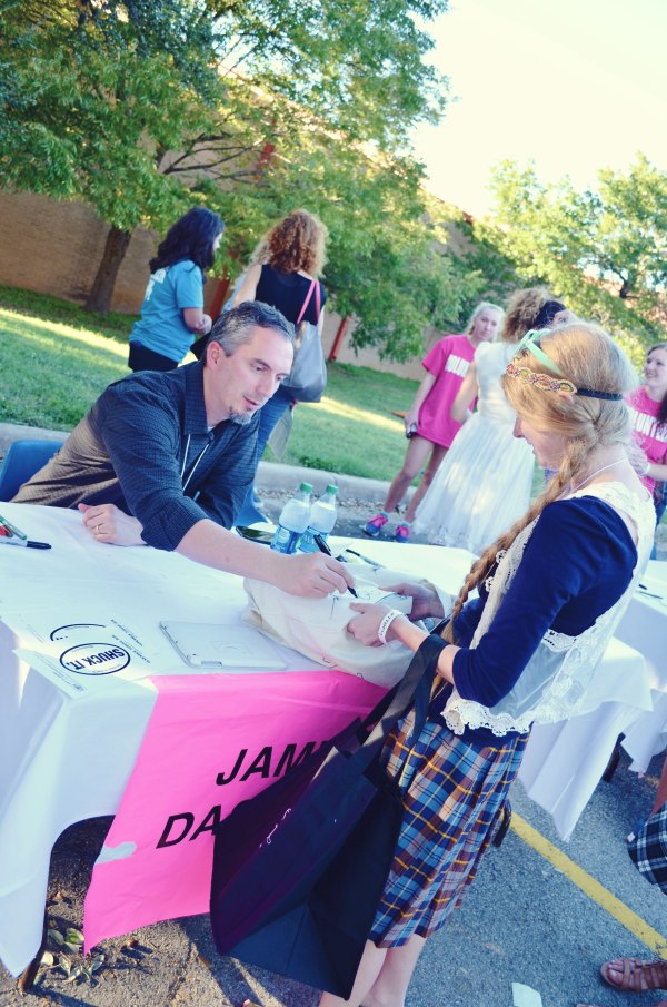 meeting James Dashner of The Maze Runner