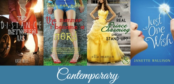 contemporary young adult romance novels