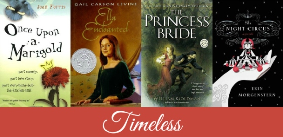 Timeless young adult romance novels