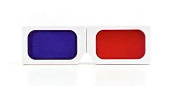 3-d contact lens case