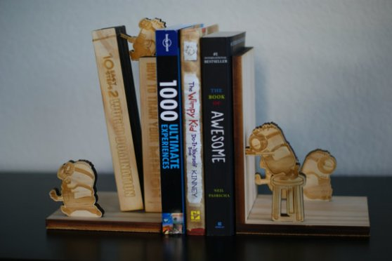 minion book ends