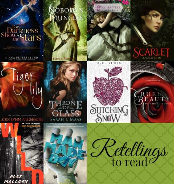 YA retellings to read (fairy tales, mythology)