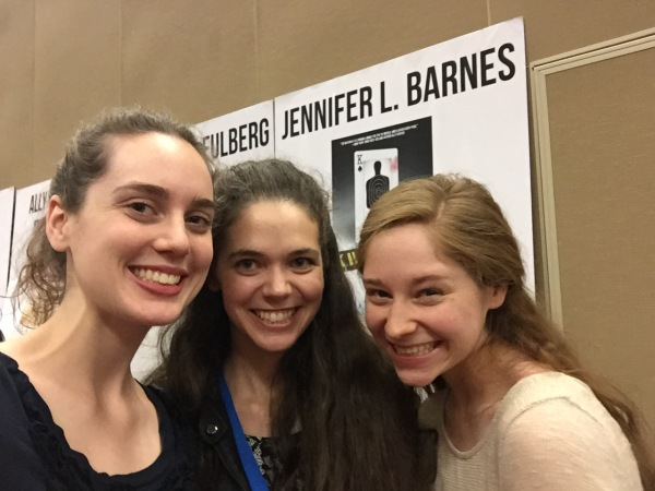 jb and julianne with jennifer lynn barnes nttbf