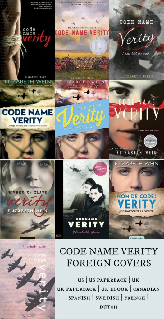 Code Name Verity Foreign Covers