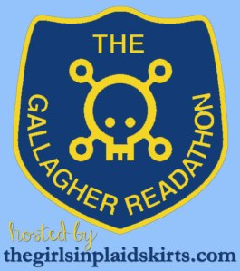 Gallagher Girl readathon logo hosted by thegirlsinplaidskirts.com