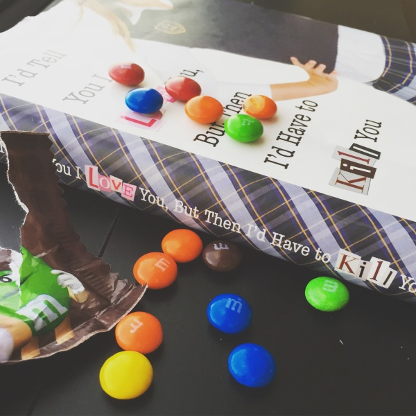 Gallagher Girls I'd Tell You I Love You But Then Id Have to Kill You and m&ms