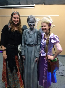 the gypsy, the weeping angel, and the princess (with a Pascal)